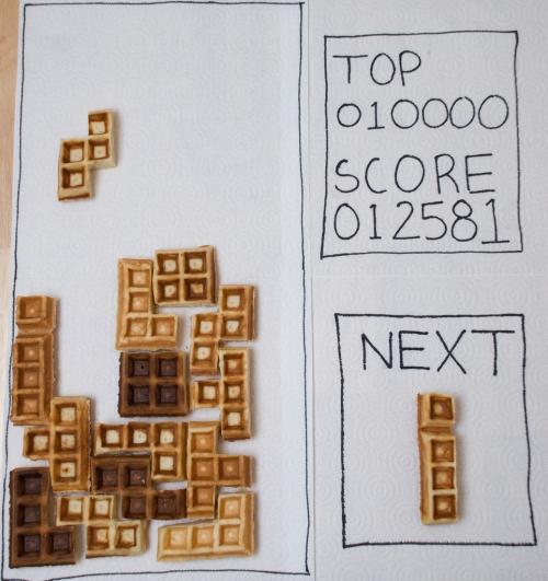 Tetris Rakete